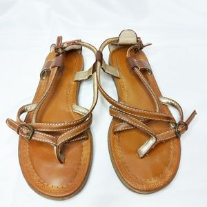 Aldo Size 7 Leather Sandals